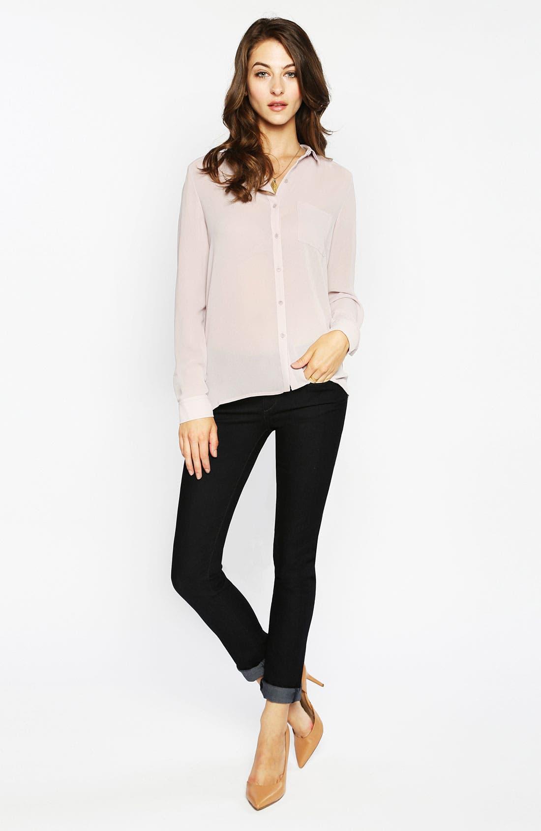 Alternate Image 4  - Paige Denim 'Verdugo' Stretch Denim Skinny Jeans (Benny)