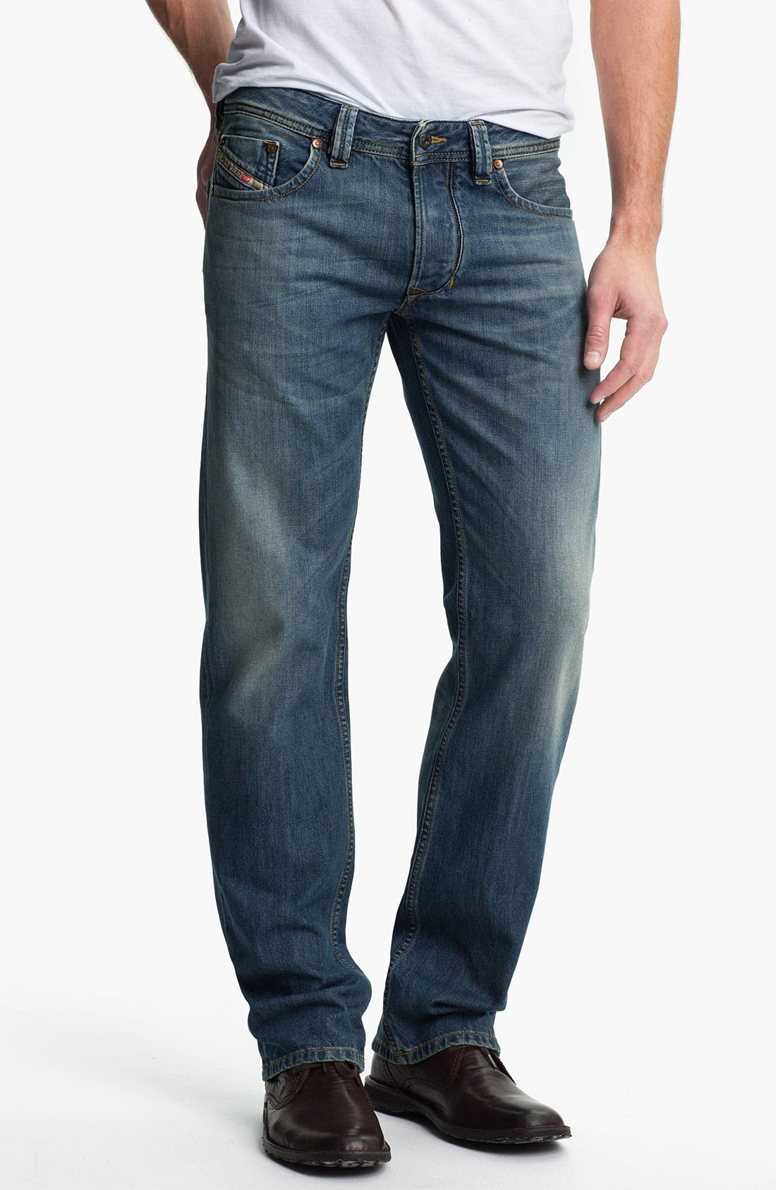Alternate Image 2  - DIESEL® 'Larkee' Straight Leg Jeans (0806S)