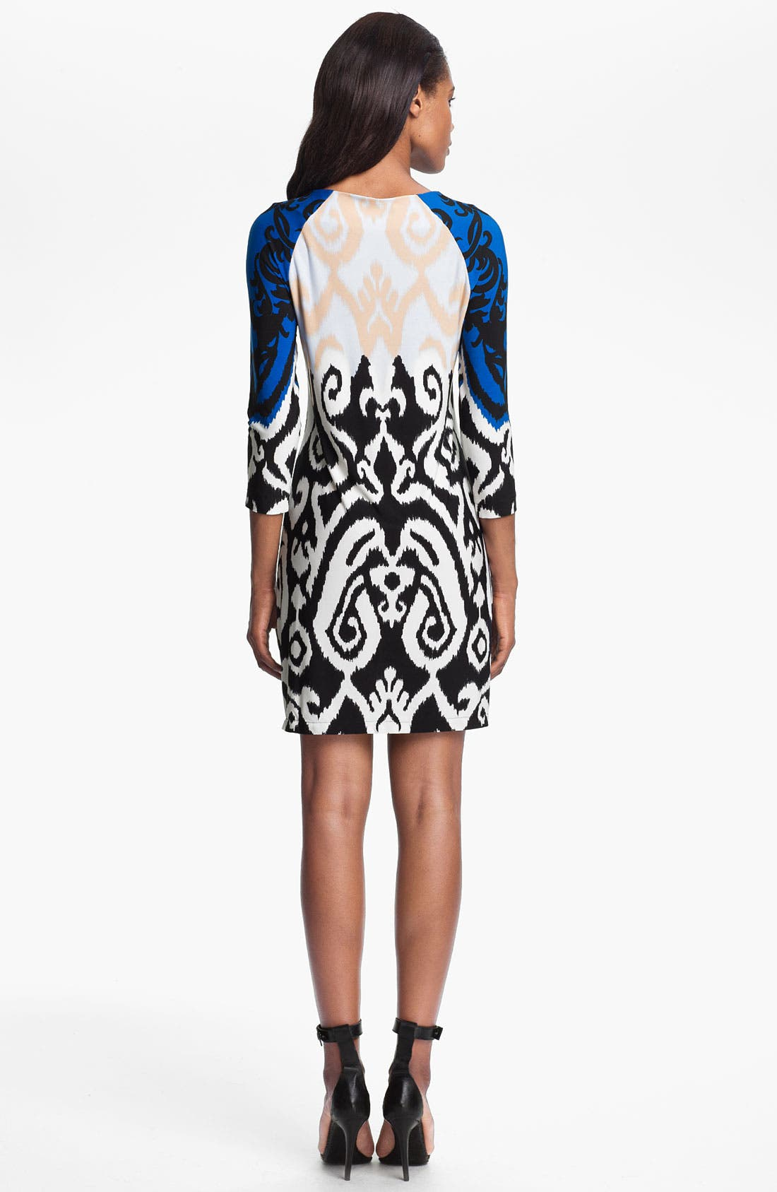 Alternate Image 2  - Tibi Colorblock Jersey Shift Dress