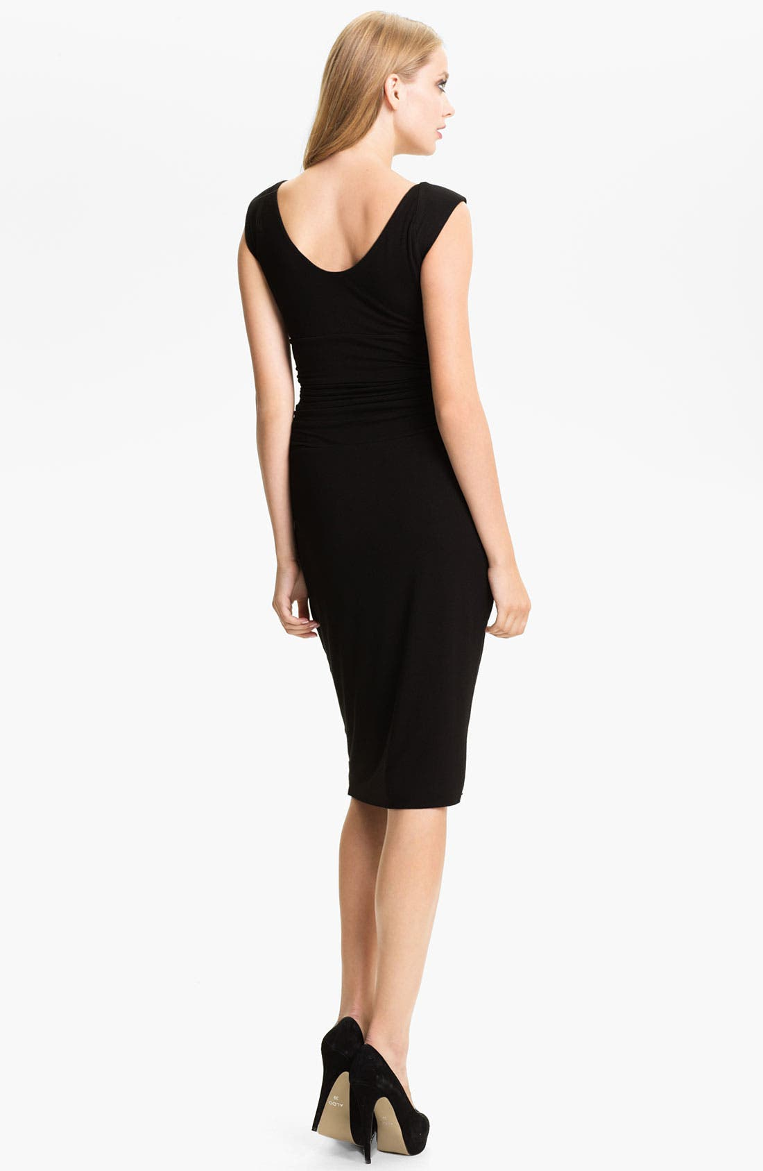 Alternate Image 2  - B44 Dressed by Bailey 44 Ruched Cap Sleeve Sheath Dress
