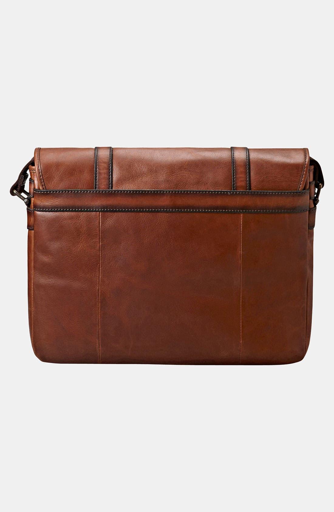 Alternate Image 2  - Fossil 'Estate' Leather Messenger Bag