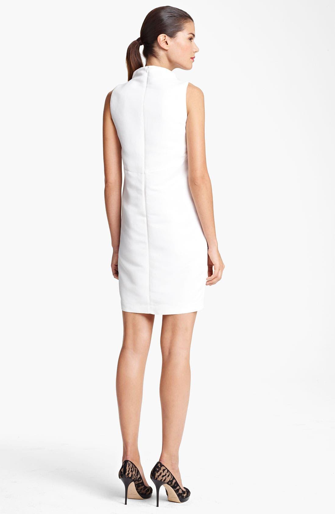 Alternate Image 2  - Piazza Sempione Circle Print Stretch Cotton Dress