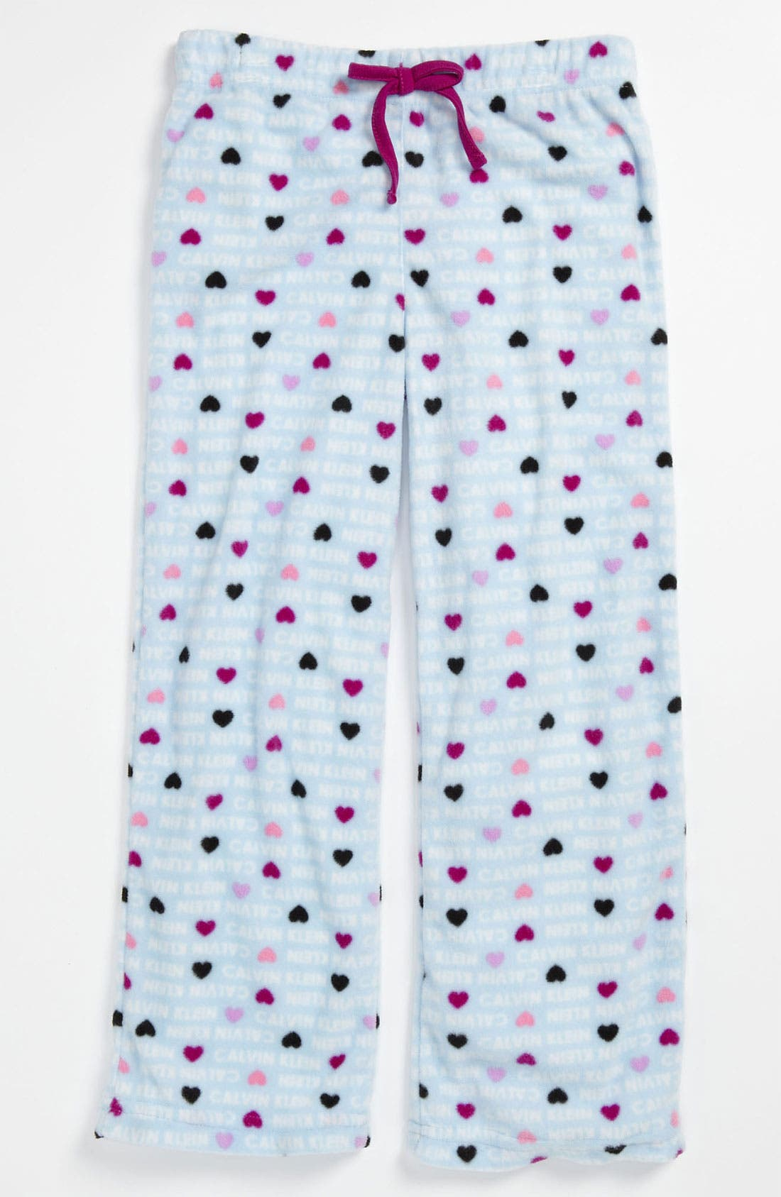 Alternate Image 1 Selected - Calvin Klein Pajama Pants (Little Girls & Big Girls)