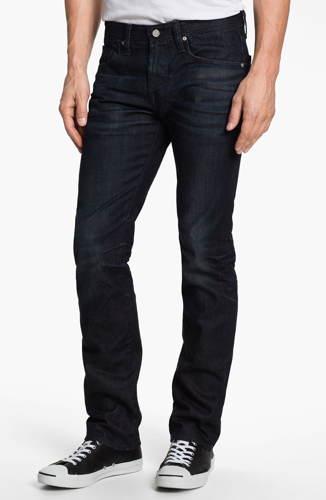 Alternate Image 1 Selected - AG 'Matchbox' Slim Fit Jeans (3 Year Tonal)