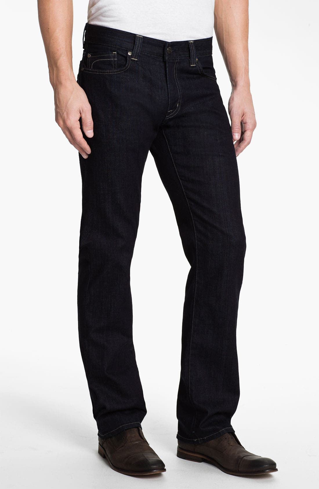 Main Image - Fidelity Denim '5011' Straight Leg Jeans (Pacific Rinse)