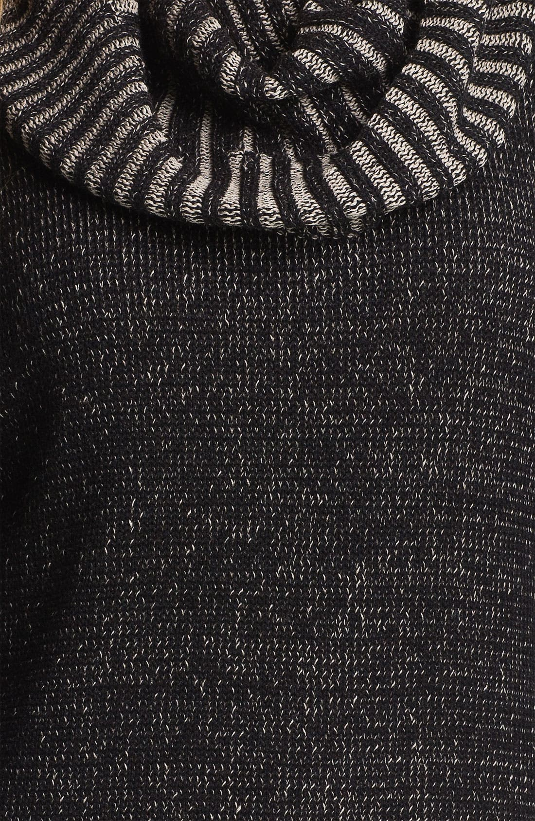 Alternate Image 3  - Fever Cowl Neck Three Quarter Sleeve Sweater (Online Exclusive)
