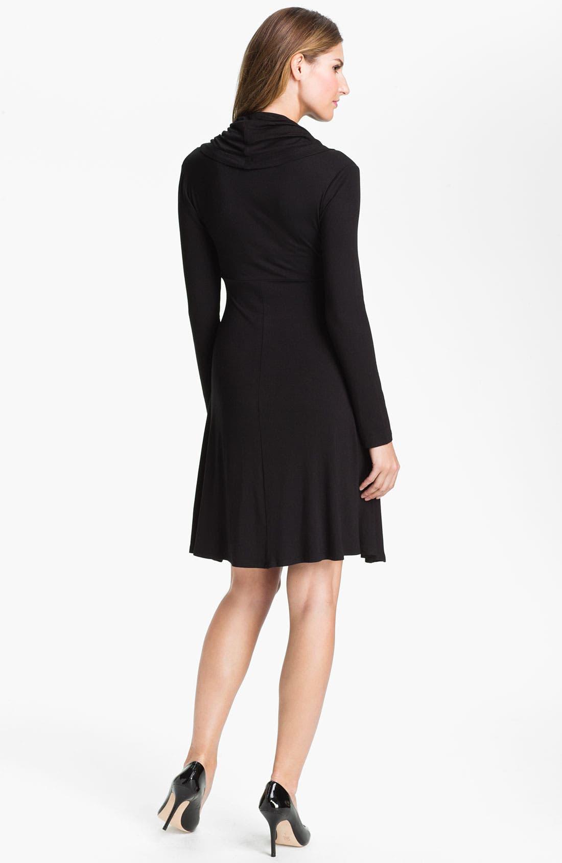 Alternate Image 2  - Karen Kane Drape Neck Dress (Online Exclusive)