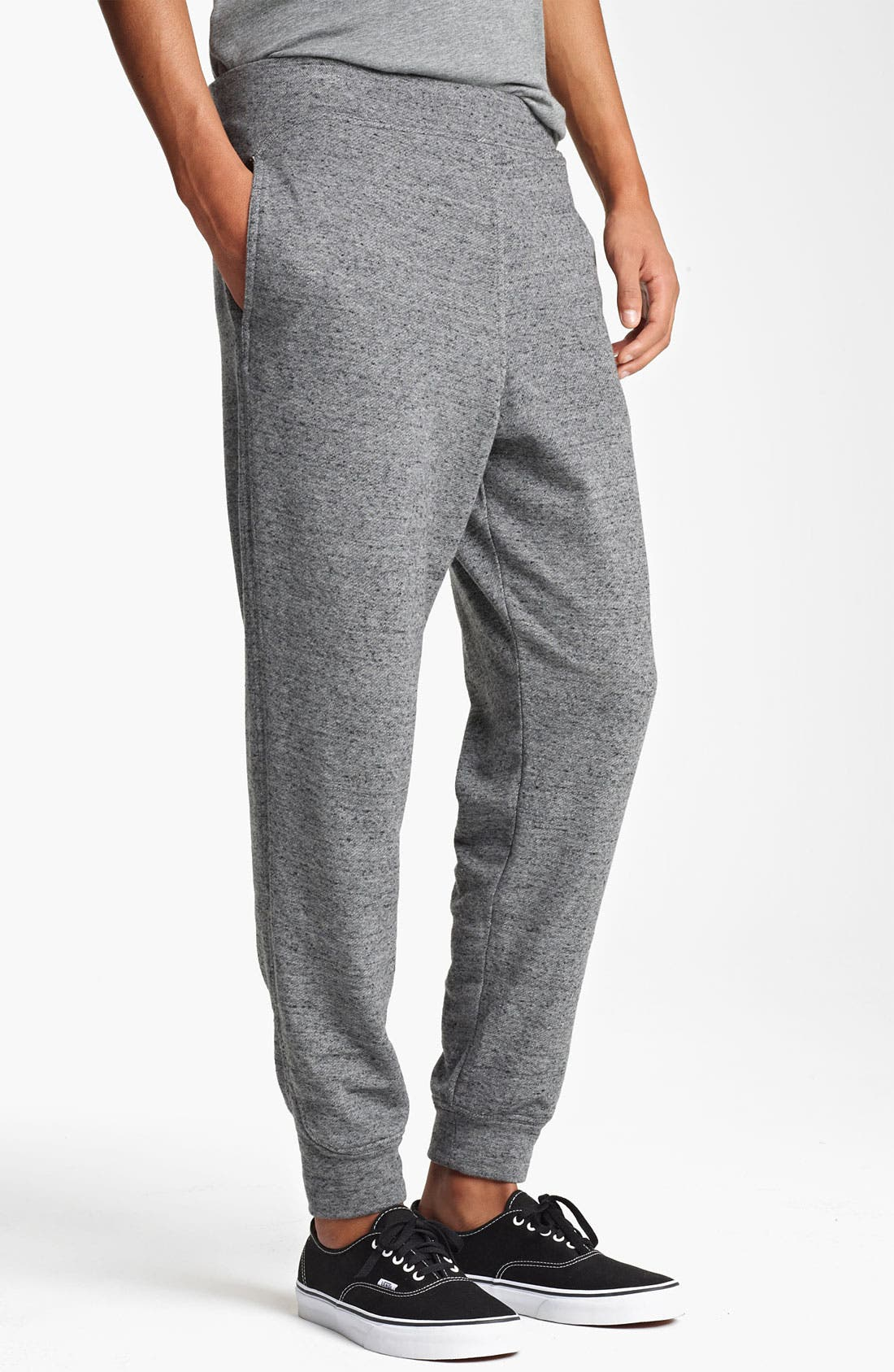 Alternate Image 1 Selected - T by Alexander Wang French Terry Cotton Sweatpants