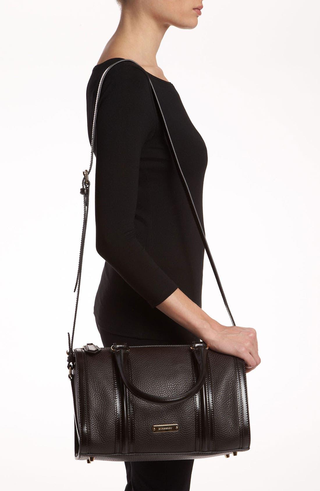 Alternate Image 2  - Burberry 'London Grainy' Leather Satchel, Medium