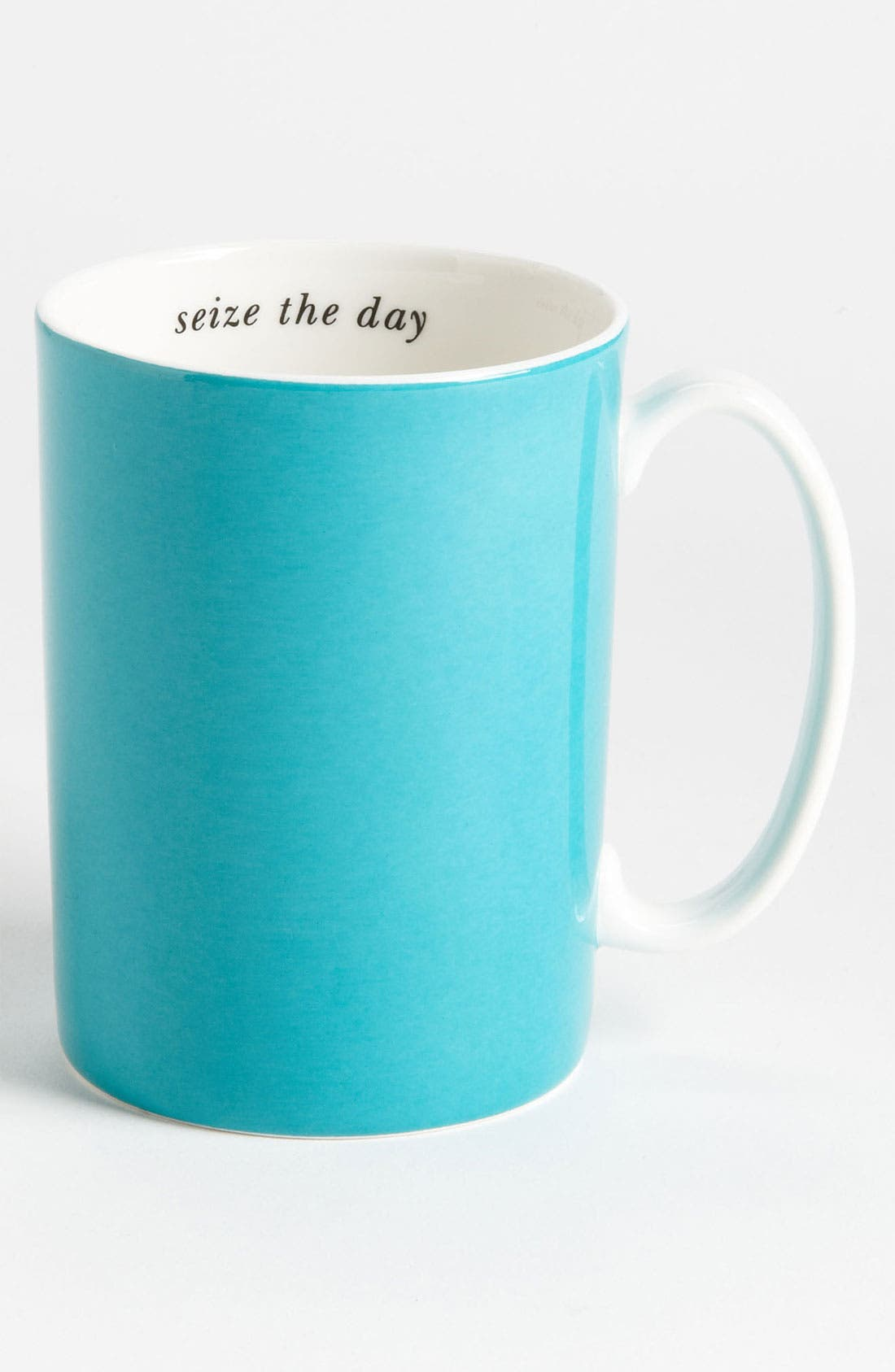 Main Image - kate spade new york 'say the word - seize the day' porcelain mug