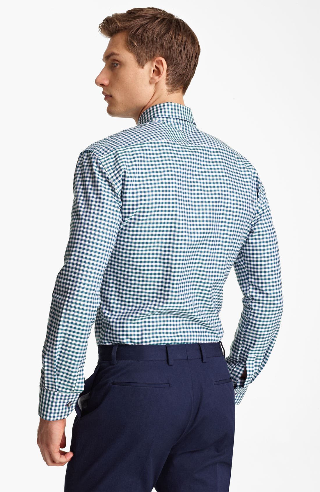 Alternate Image 2  - Paul Smith London Gingham Shirt