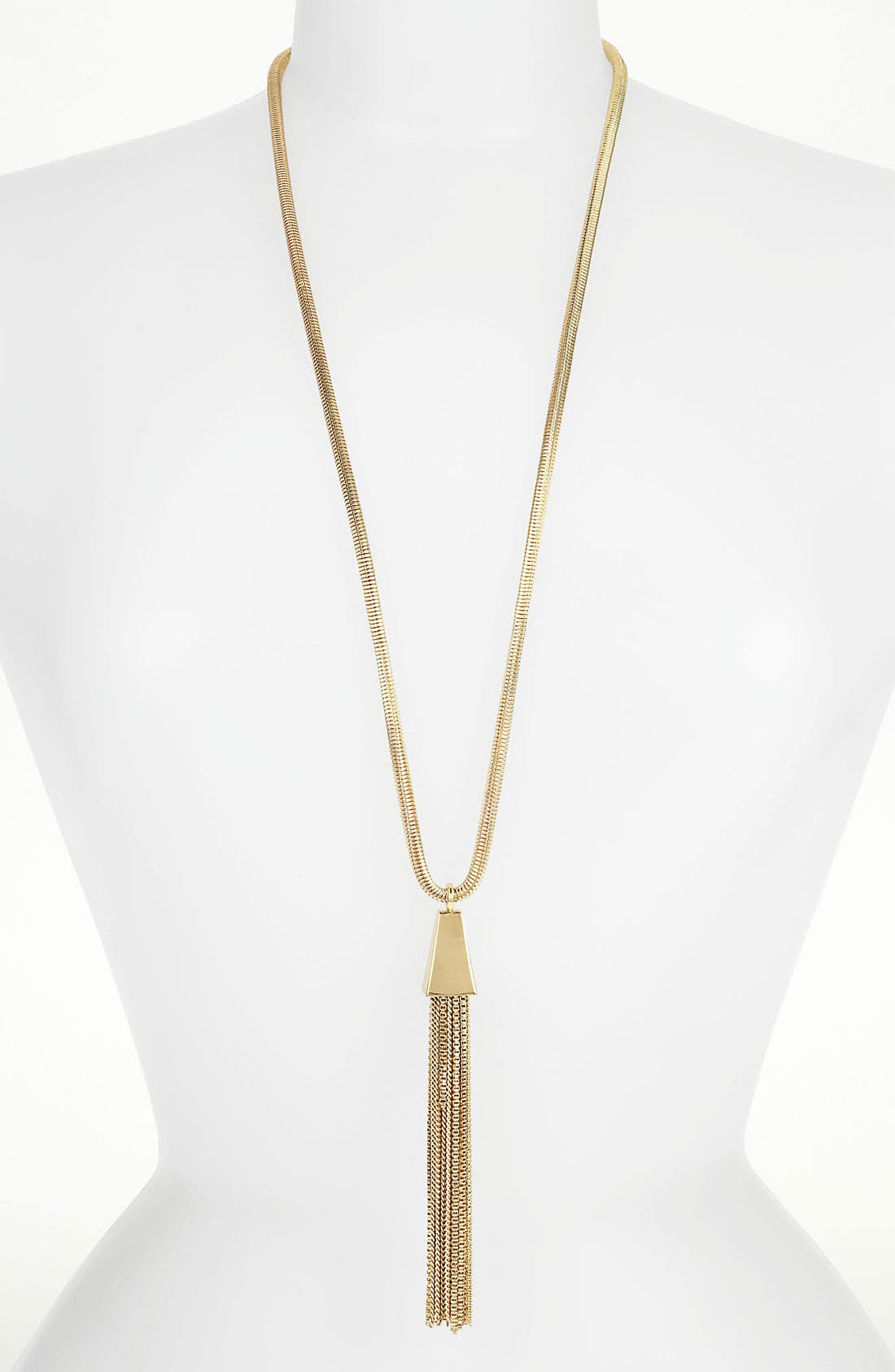 Alternate Image 1 Selected - Vince Camuto Tassel Necklace