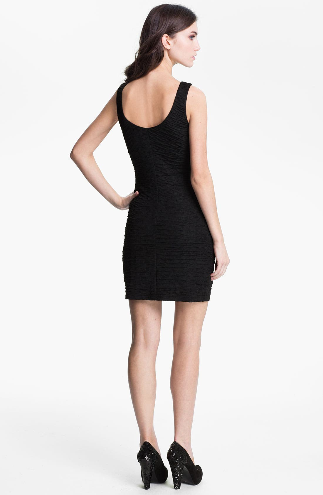 Alternate Image 2  - Wyton Textured Jersey Tank Dress