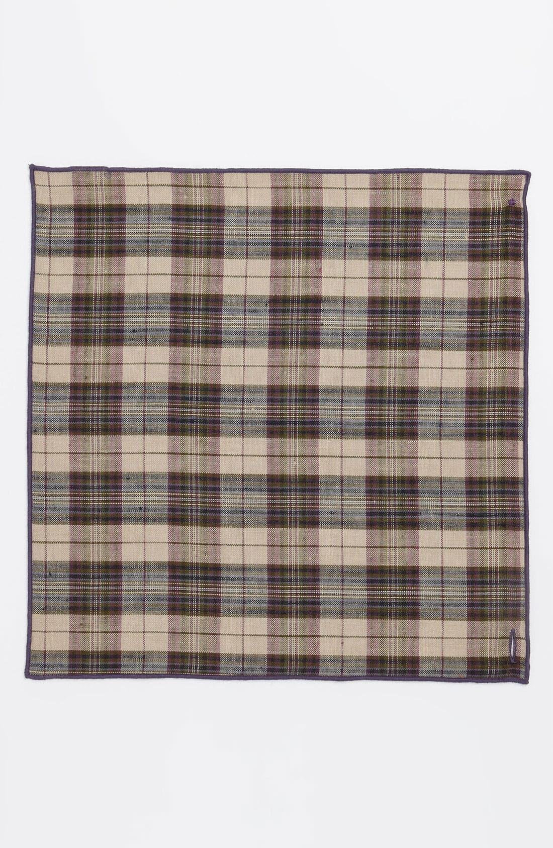 Alternate Image 2  - Armstrong & Wilson Linen Pocket Square