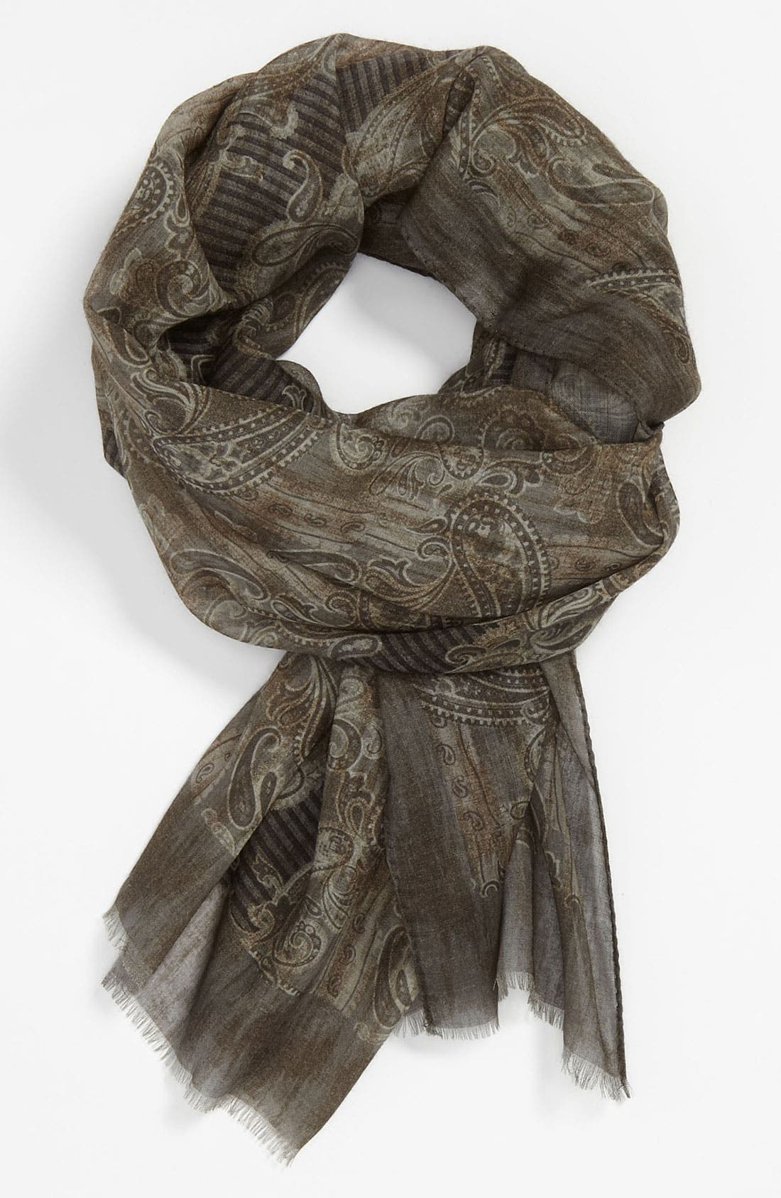 Alternate Image 1 Selected - Ermenegildo Zegna Wool Scarf
