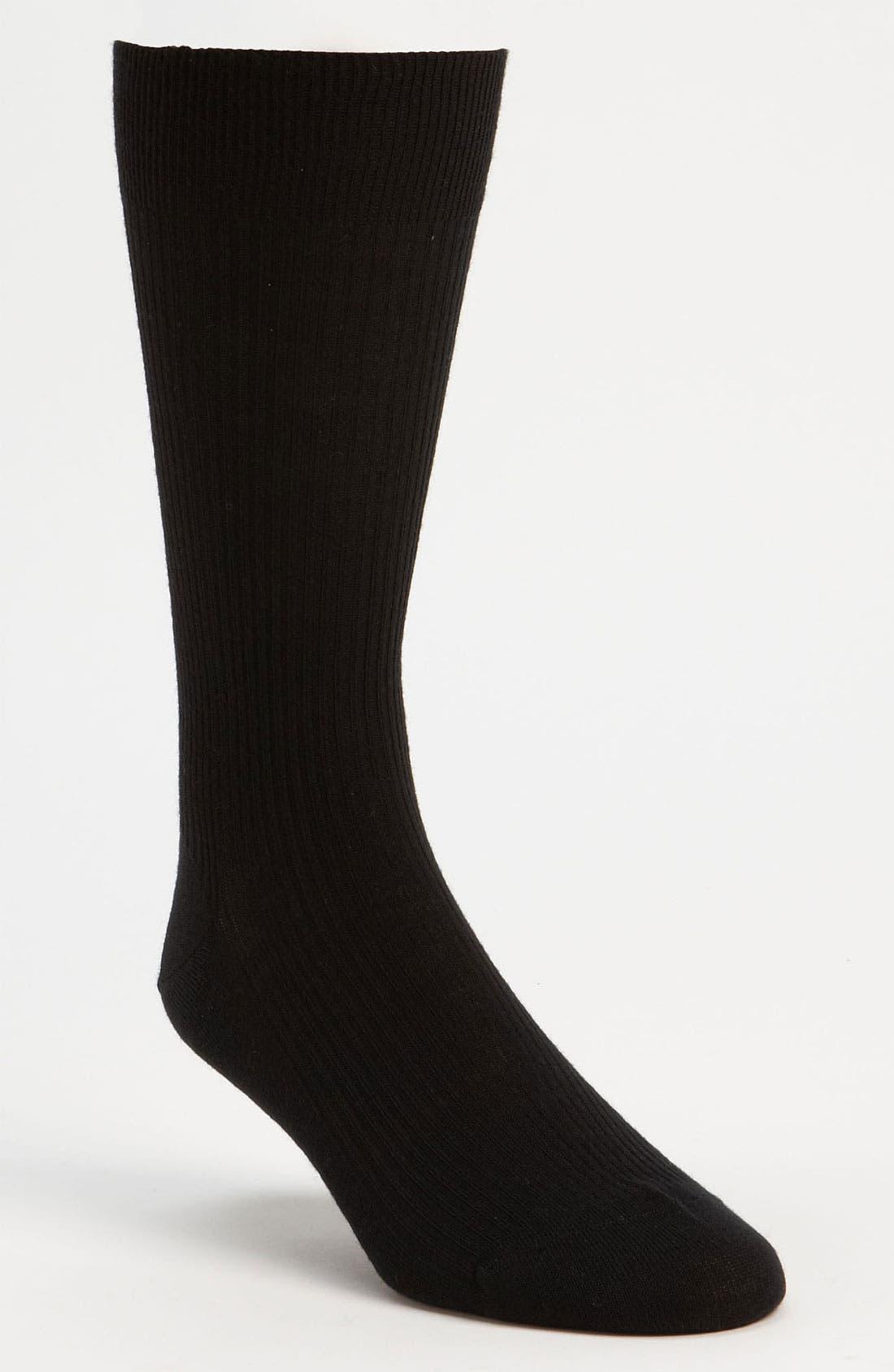 Main Image - Pantherella Merino Wool Mid Calf Dress Socks