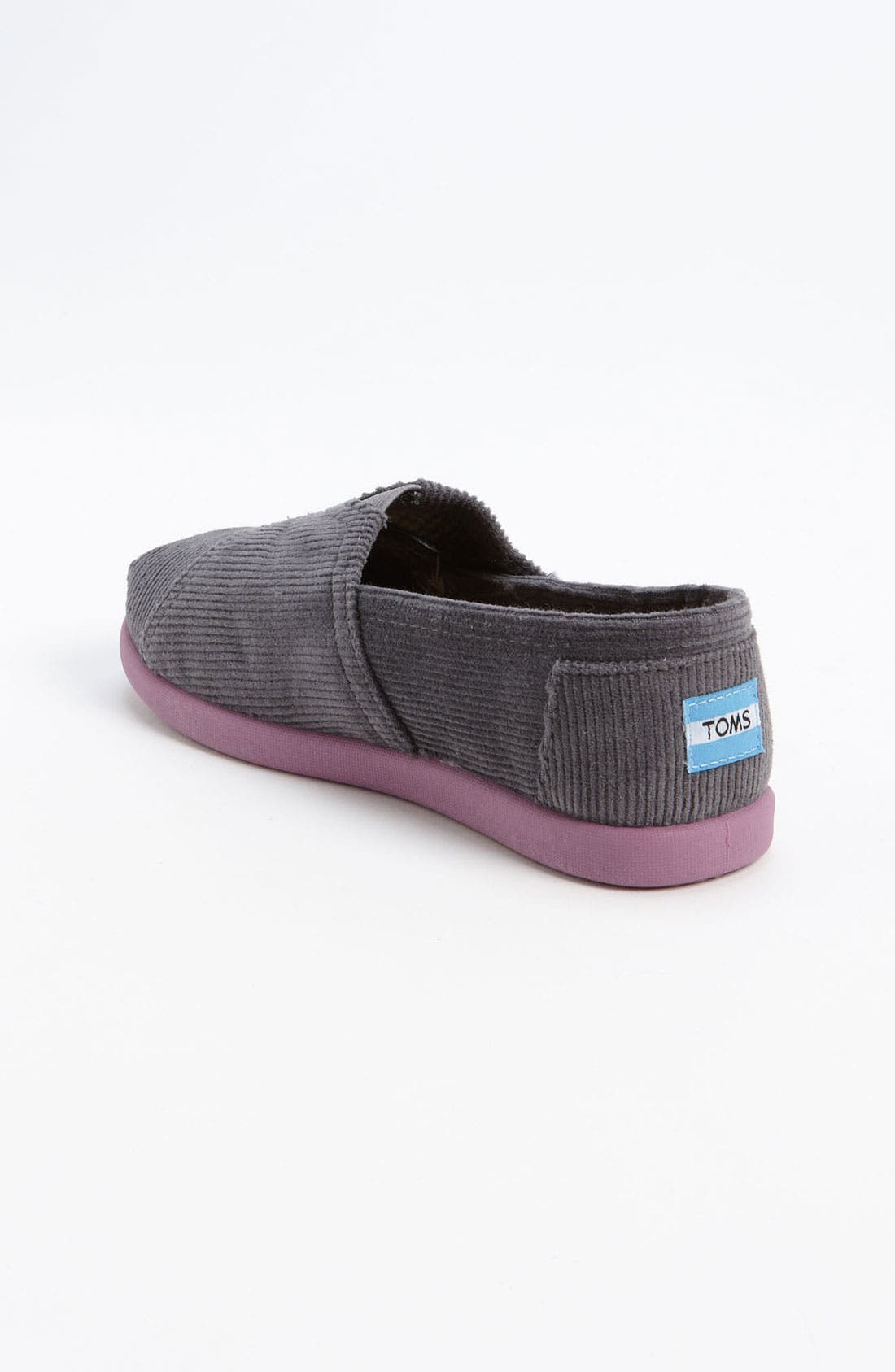 Alternate Image 2  - TOMS 'Classic - Tiny' Corduroy Slip-On (Baby, Walker & Toddler)