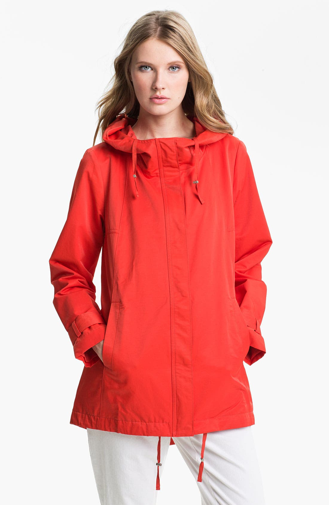 Alternate Image 1 Selected - Eileen Fisher Hooded Jacket
