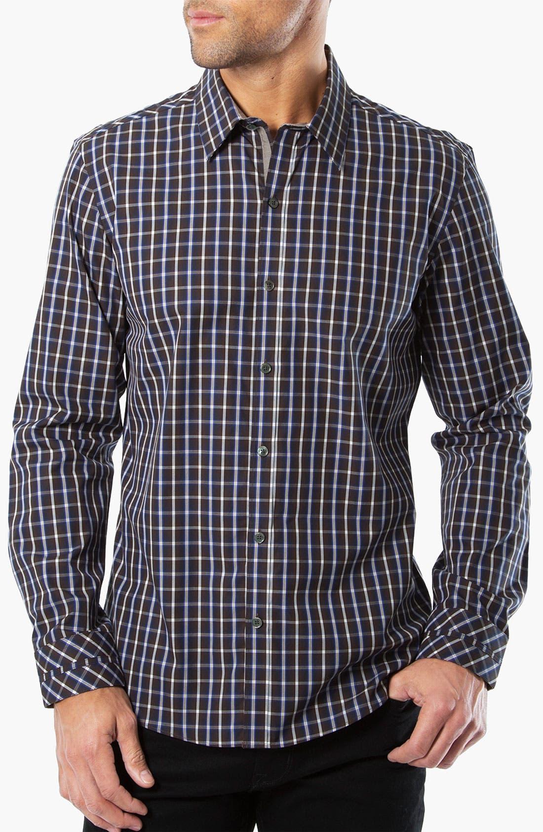 Main Image - Kenson 'Vertigo' Plaid Woven Shirt