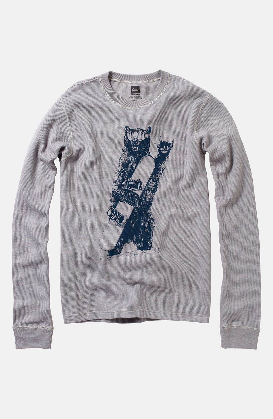 Alternate Image 1 Selected - Quiksilver 'Joyride' Thermal Top (Big Boys)