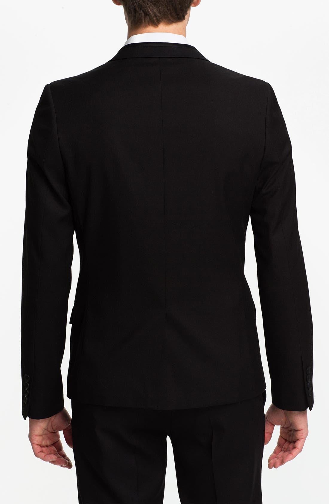 Alternate Image 2  - Topman One Button Tuxedo Jacket