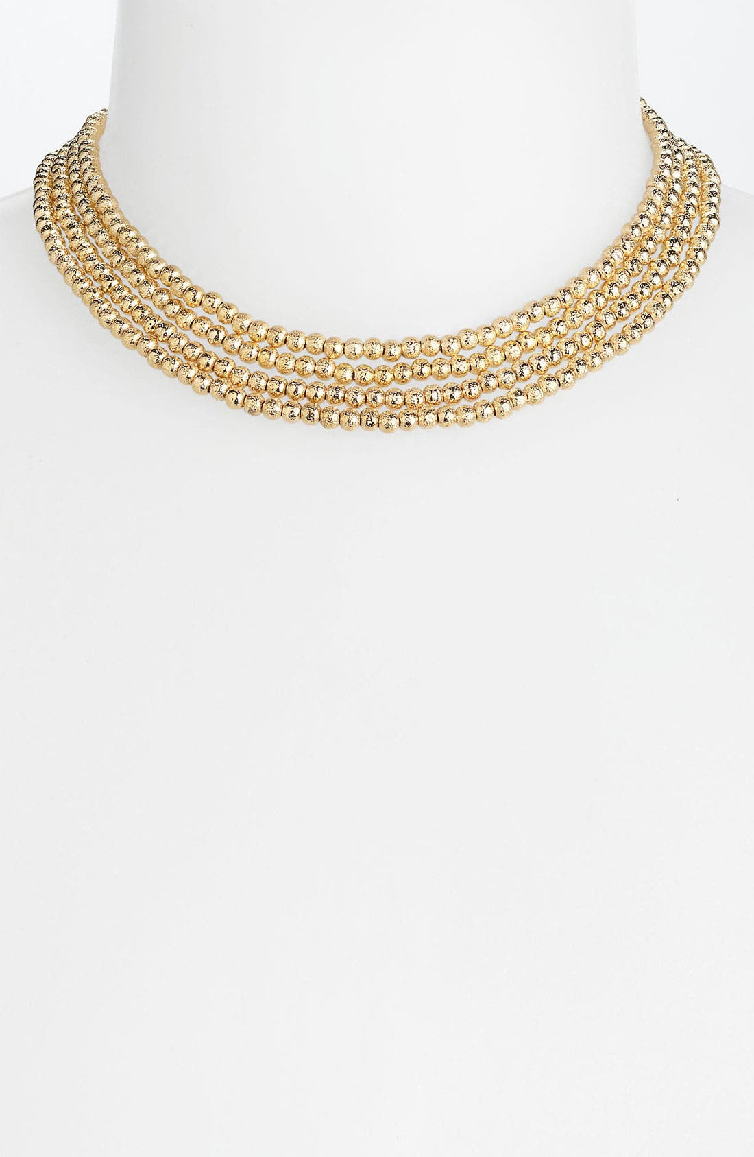Alternate Image 3  - Nordstrom 'Sand Dollar' Extra Long Bead Necklace