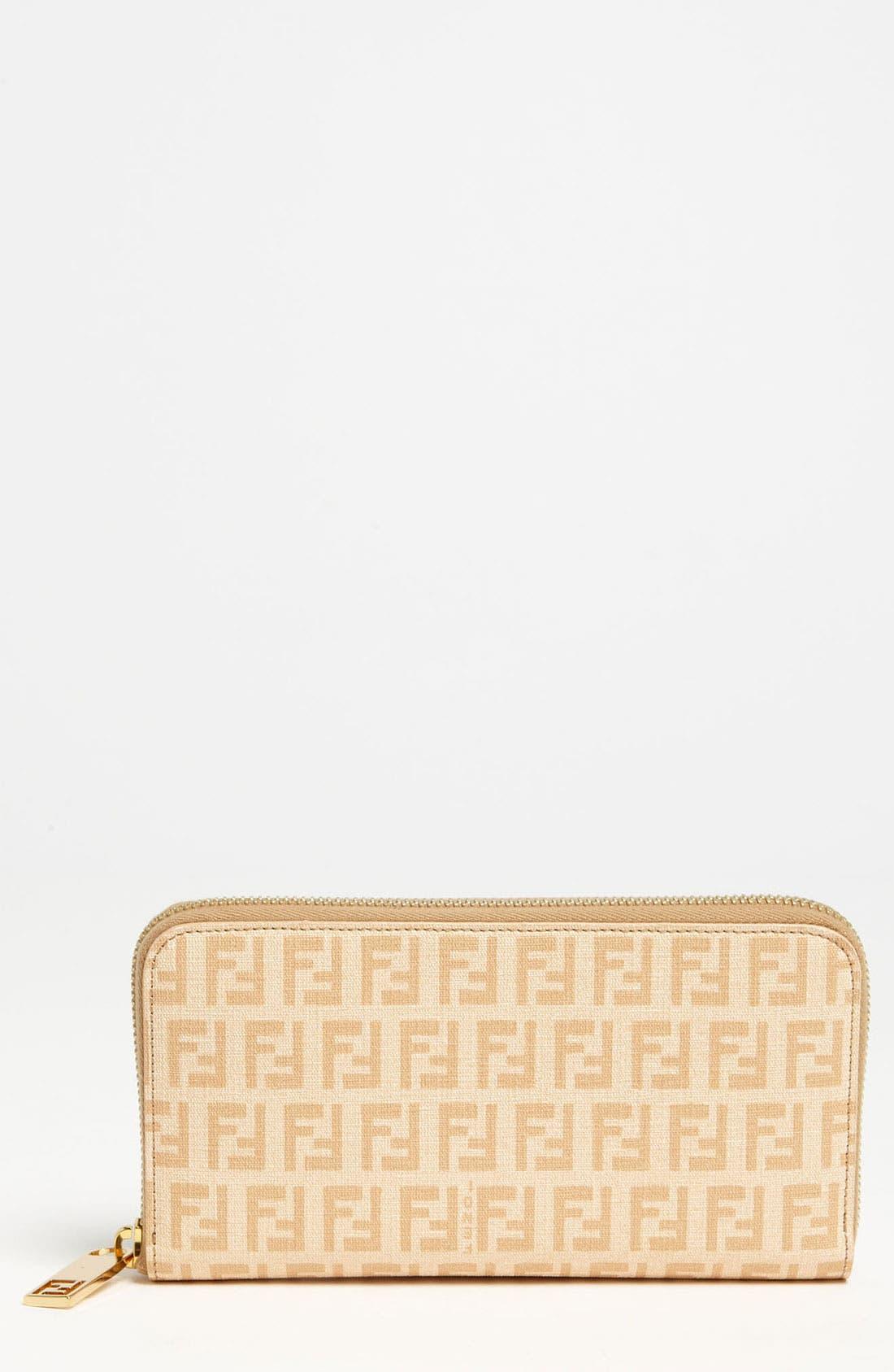 Main Image - Fendi 'Forever' Zip Around Wallet