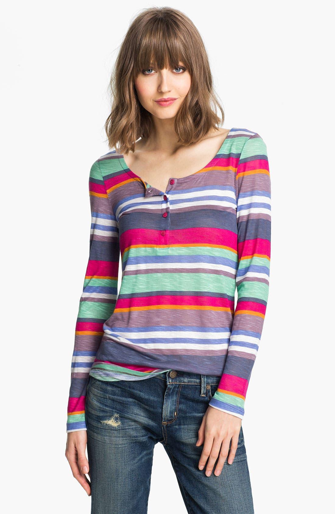 Alternate Image 1 Selected - Splendid 'Pensacola' Stripe Henley