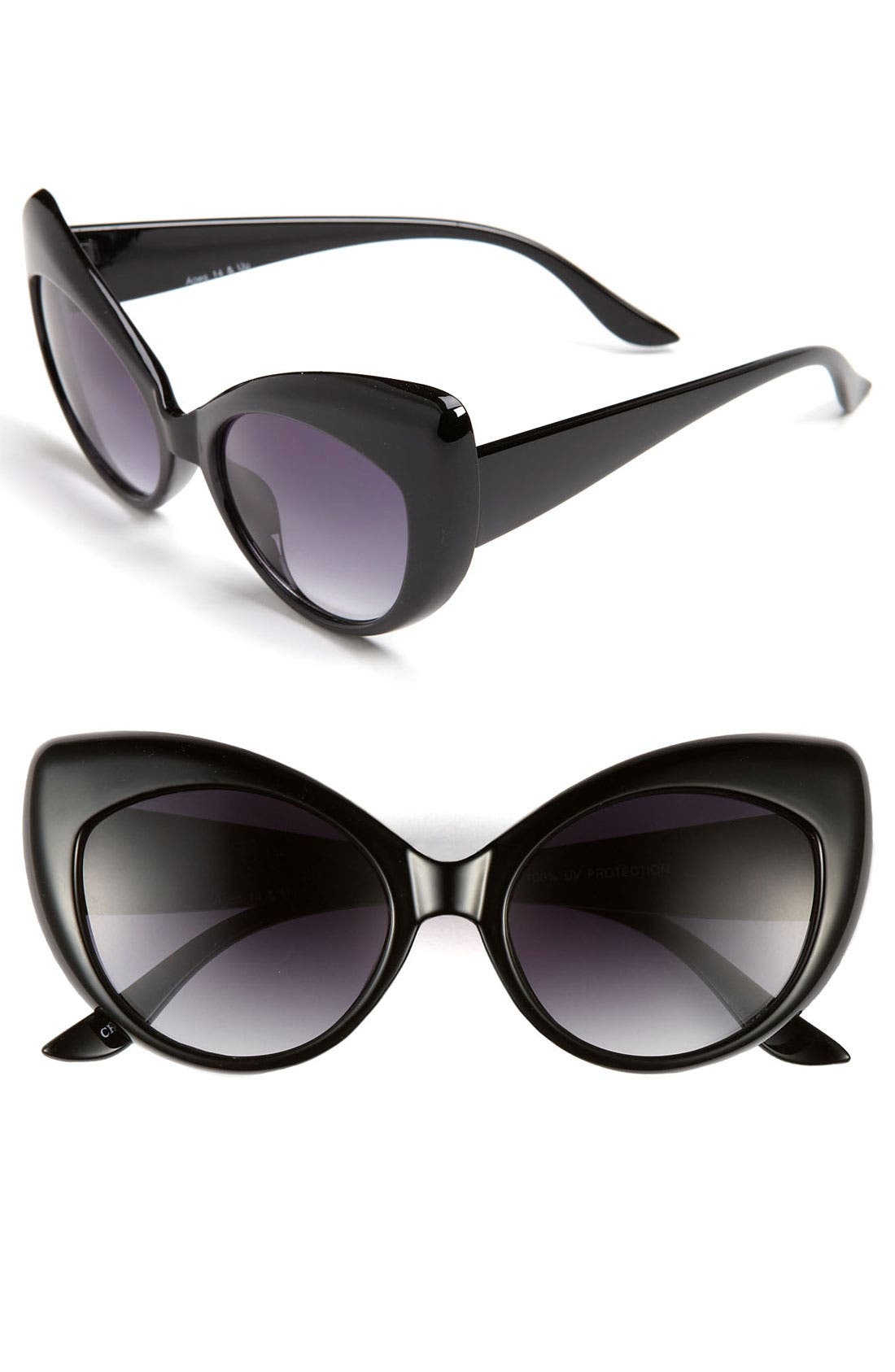 Alternate Image 1 Selected - FE NY 'Lindy Hop' Cat's Eye Sunglasses