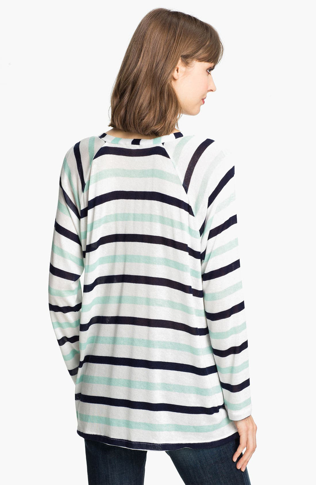 Alternate Image 2  - Splendid 'Clearwater' Stripe Lace-Up Top