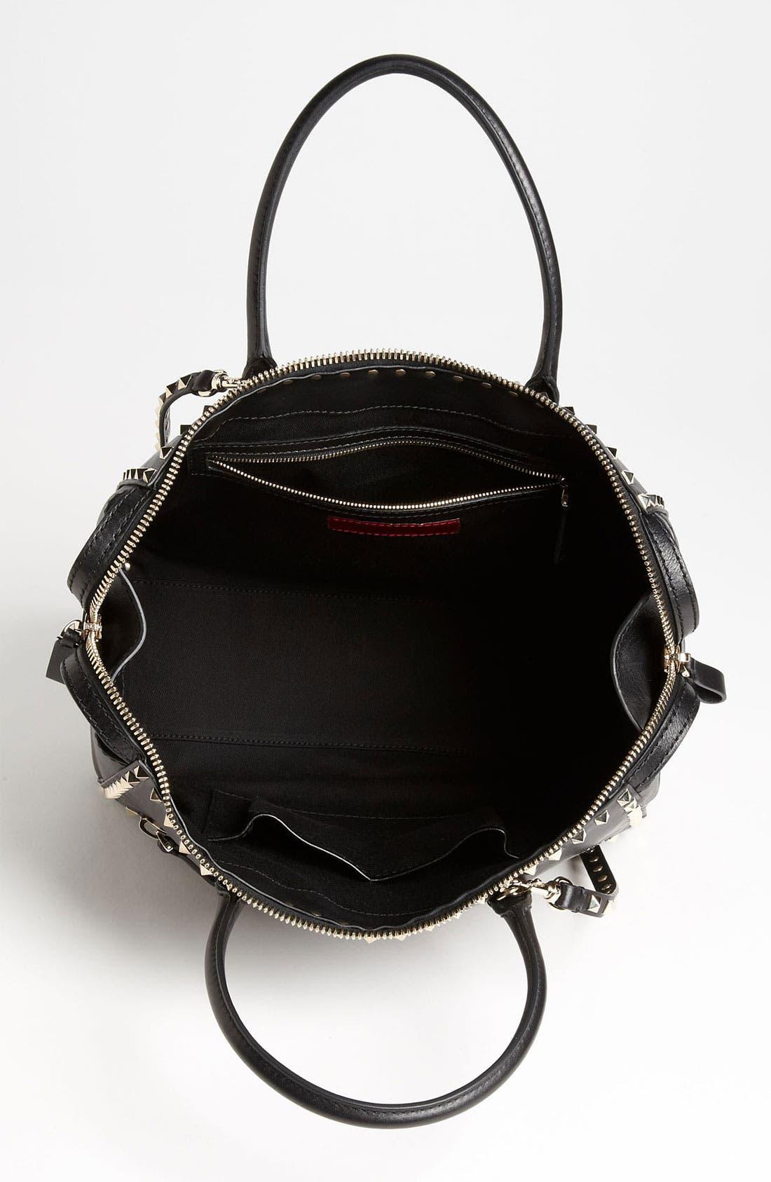 Alternate Image 3  - Valentino 'Rockstud - Small' Leather Handbag