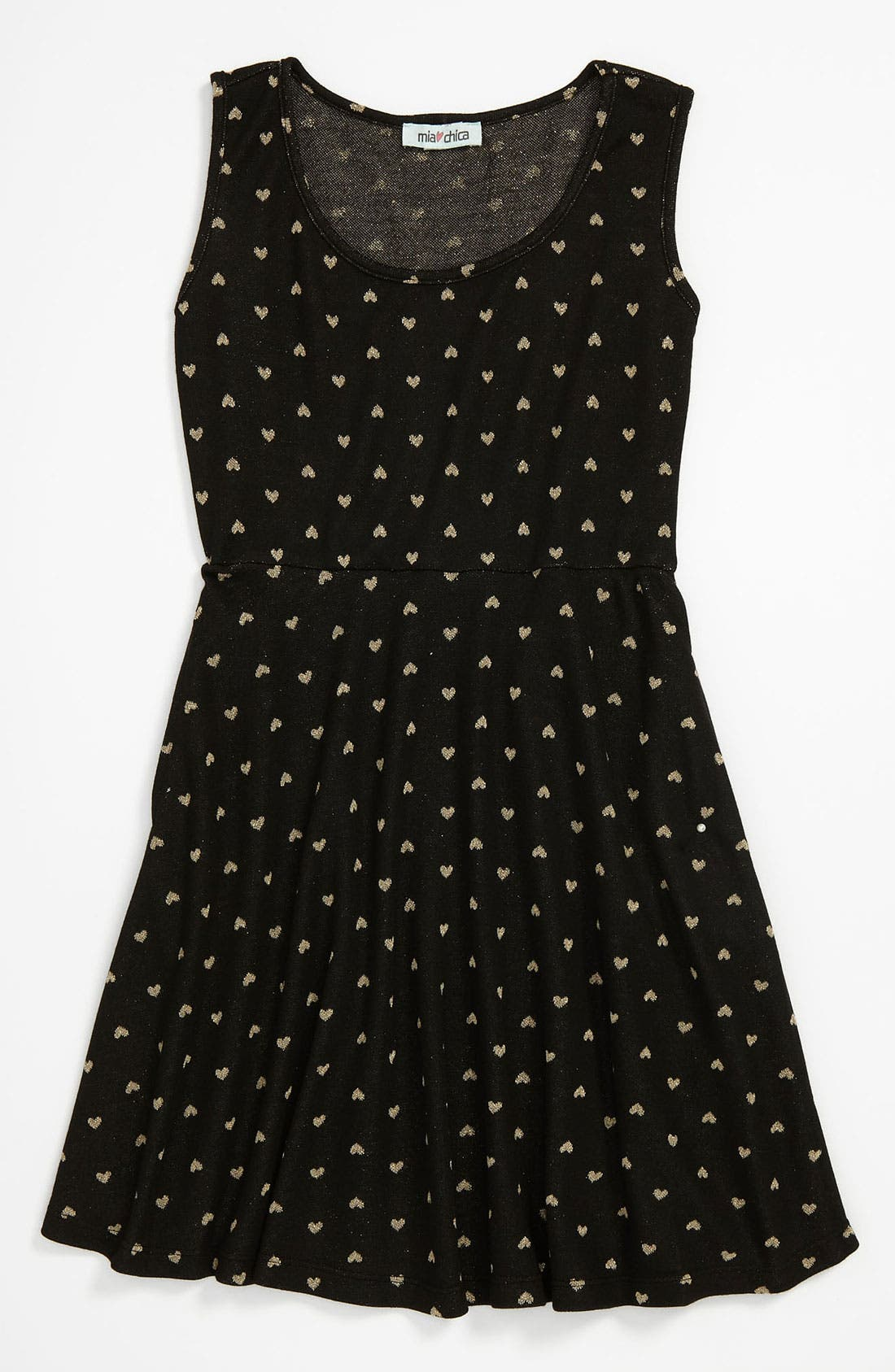 Alternate Image 1 Selected - Mia Chica 'Heart' Dress (Big Girls)