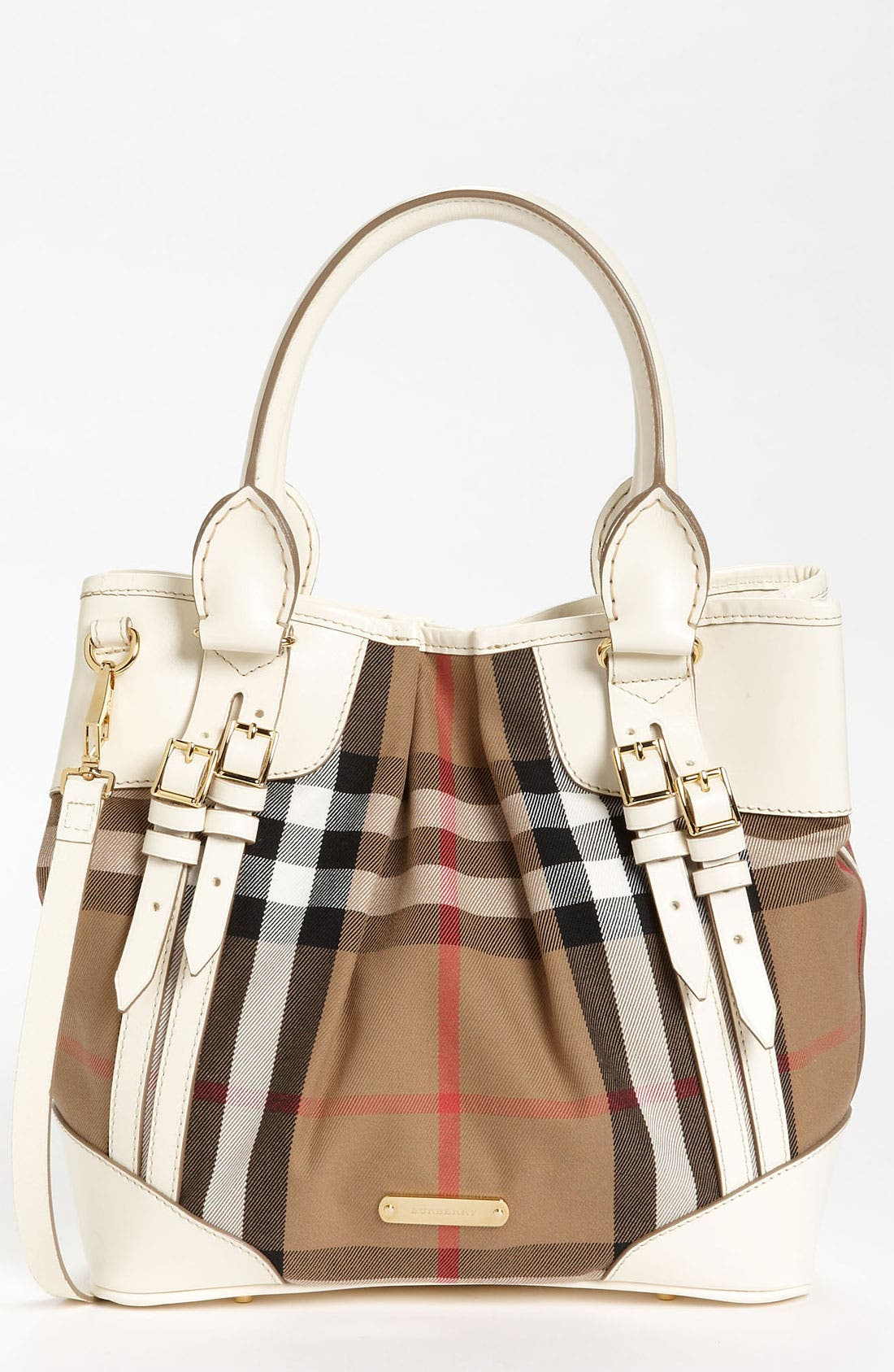 Alternate Image 1 Selected - Burberry 'House Check - Small' Tote