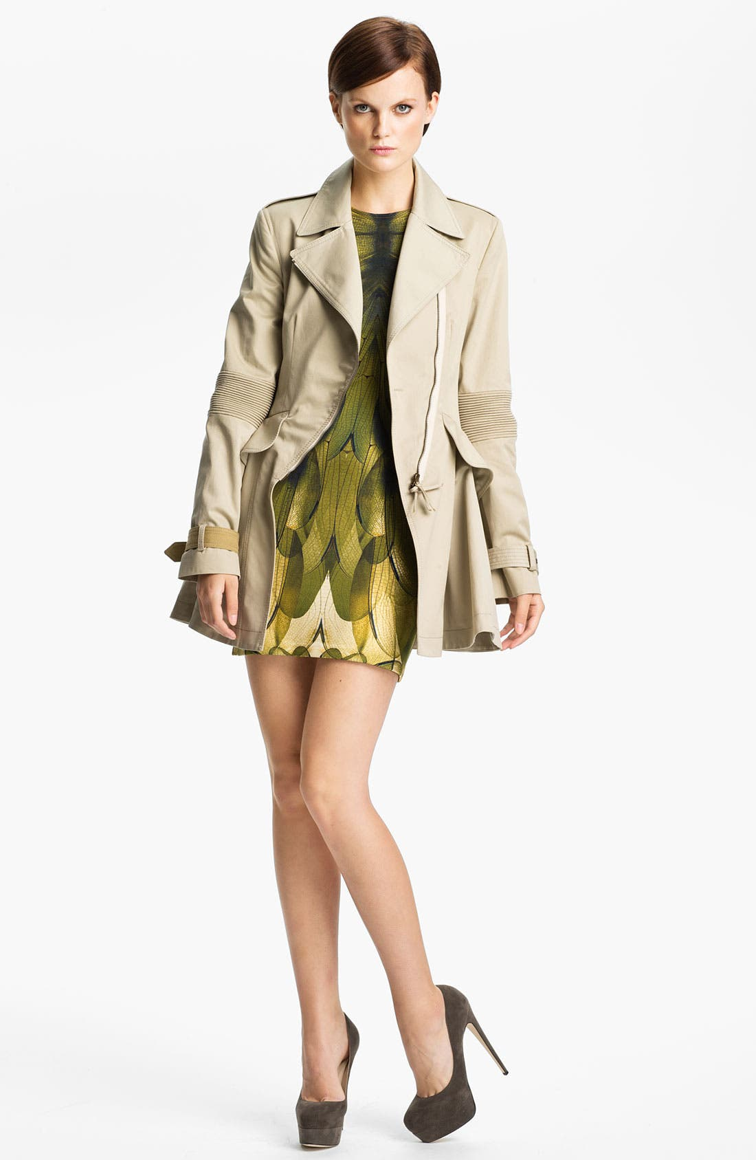 Alternate Image 3  - McQ by Alexander McQueen Belted Trench Coat