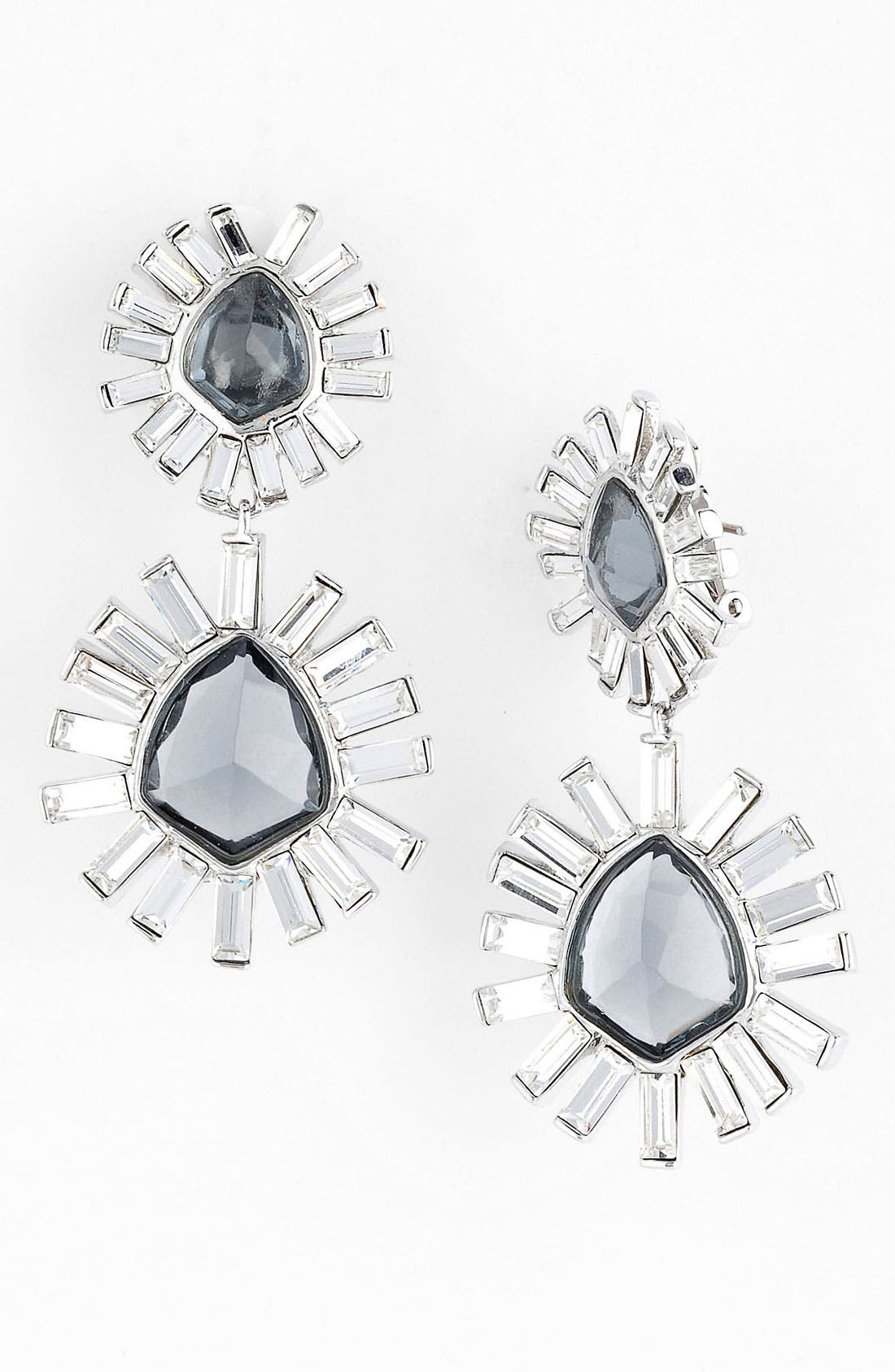 Alternate Image 1 Selected - Alexis Bittar 'Miss Havisham - Bel Air' Starburst Drop Clip Earrings