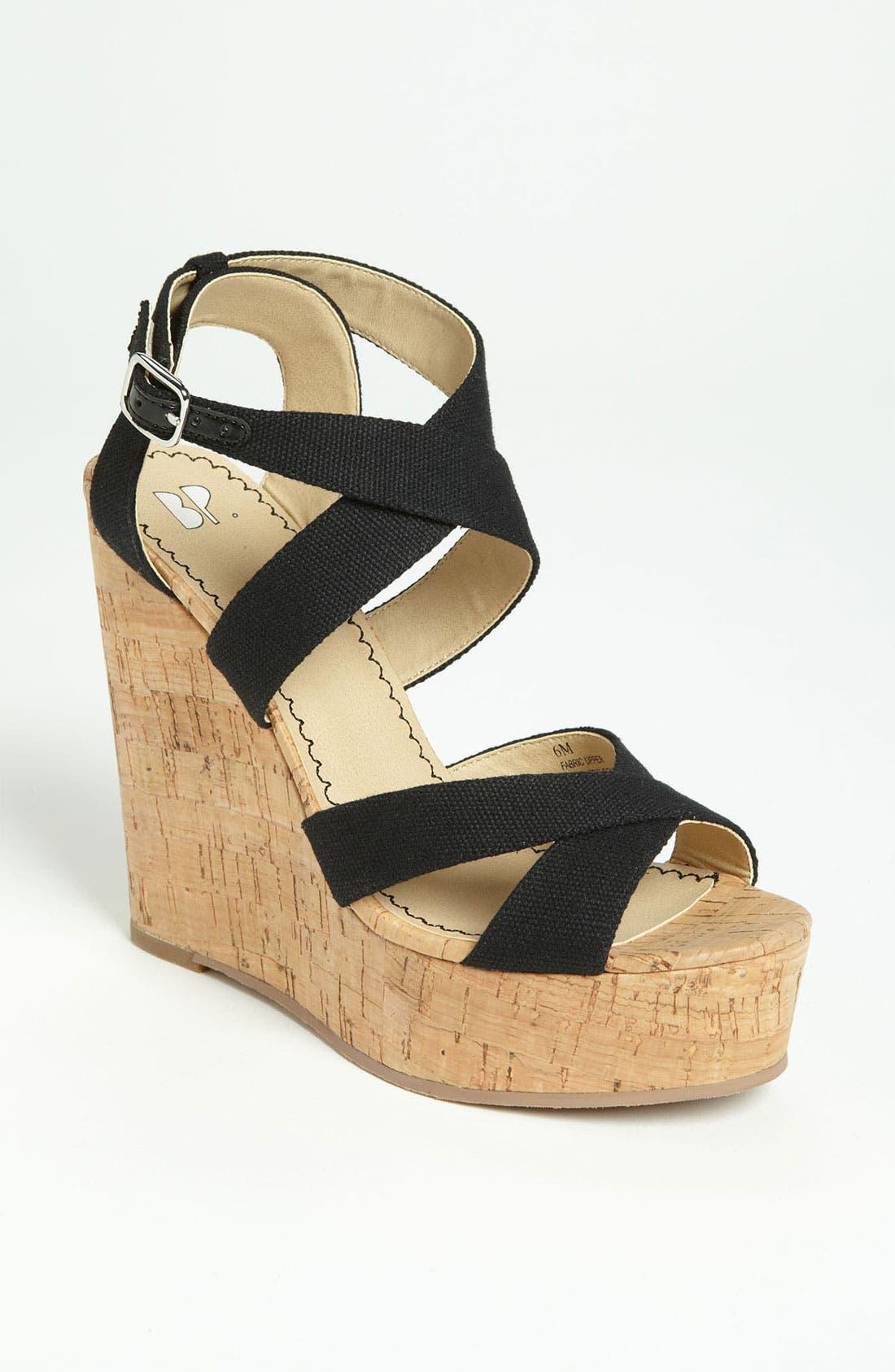 Alternate Image 1 Selected - BP. 'Erika' Wedge Sandal