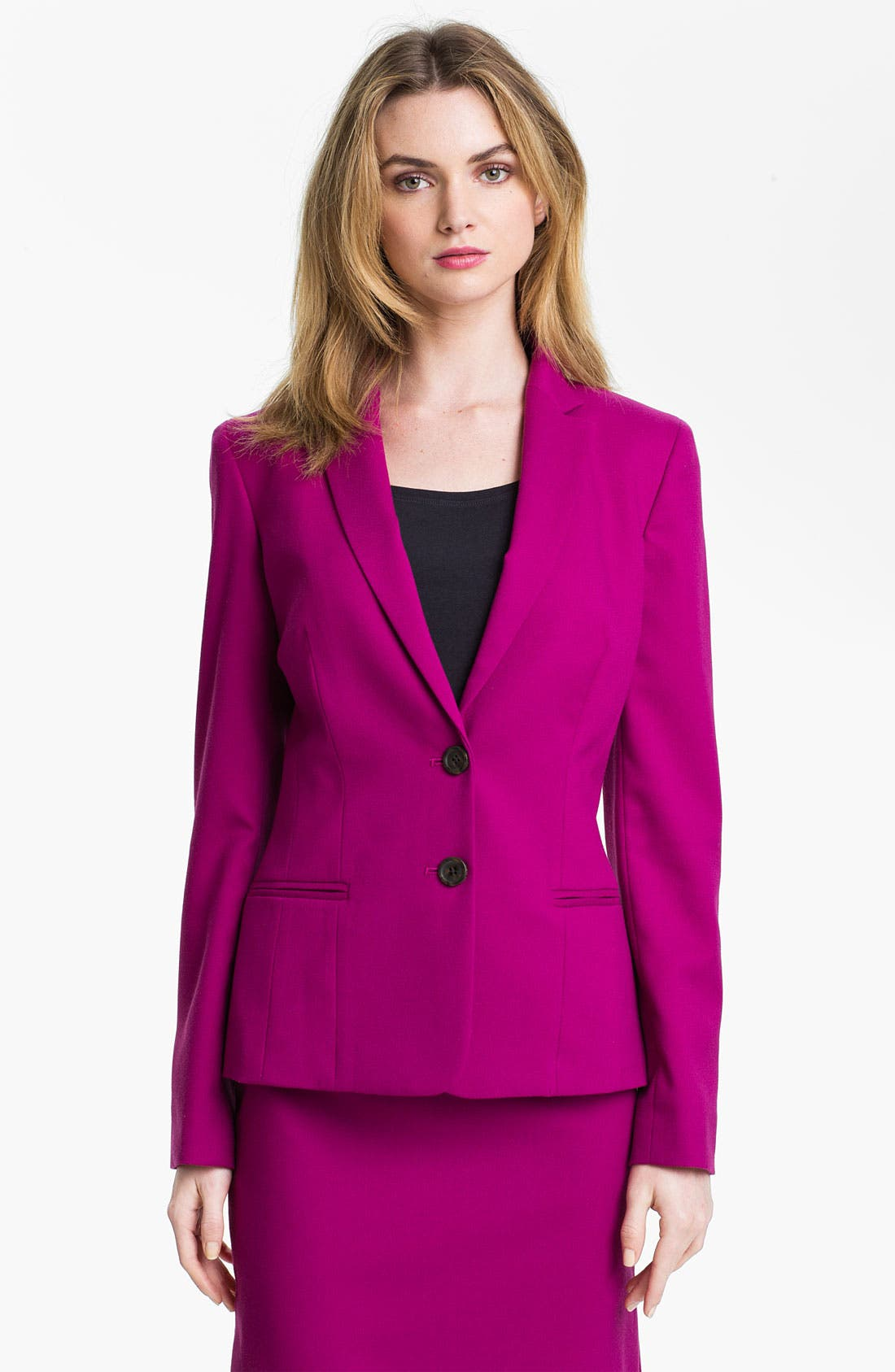 Main Image - Anne Klein Two Button Blazer