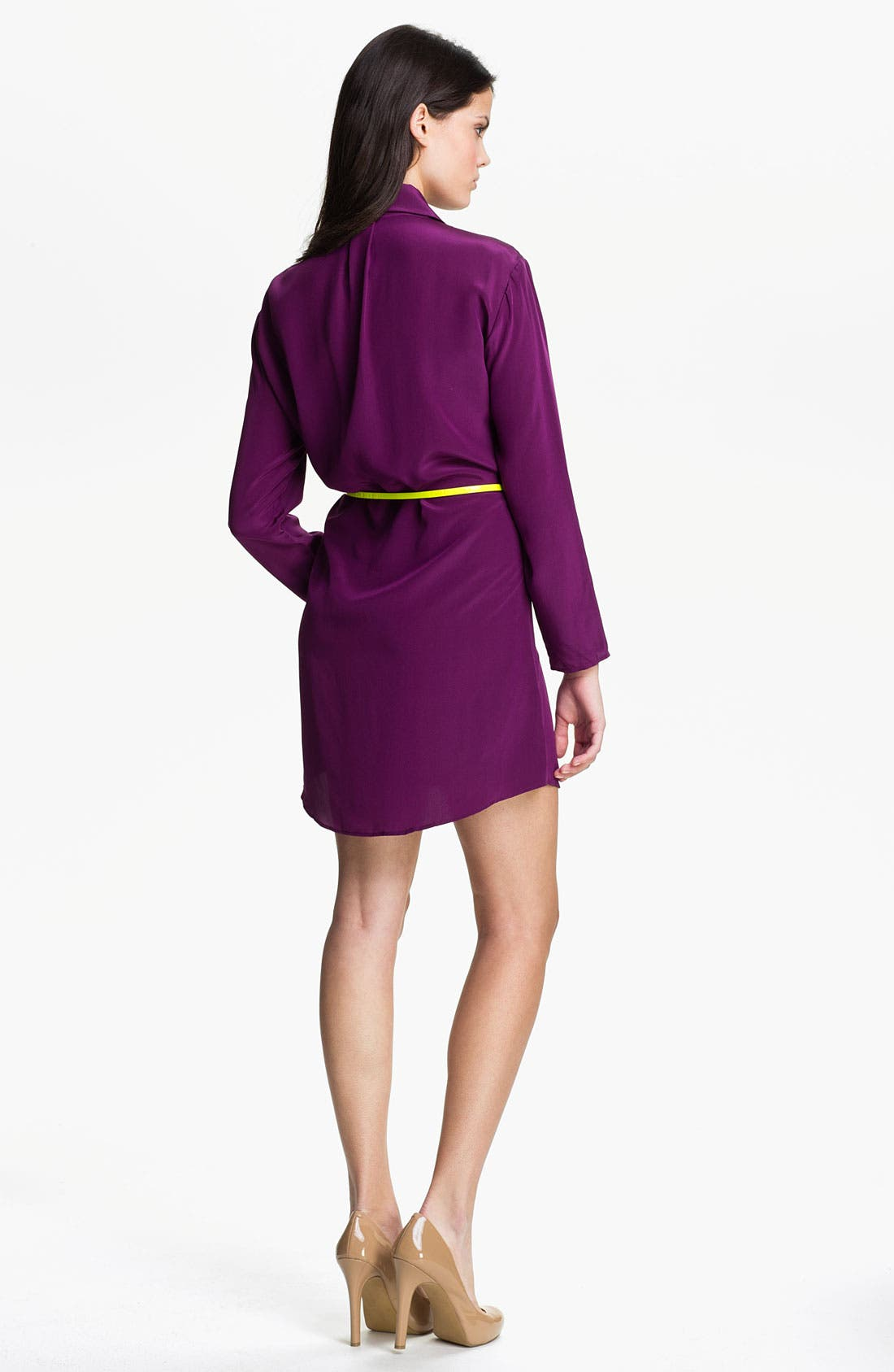 Alternate Image 2  - Eight Sixty Belted Shirtdress