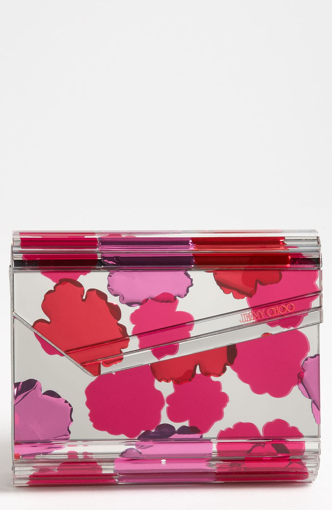 Alternate Image 1 Selected - Jimmy Choo 'Candy Floral' Clutch