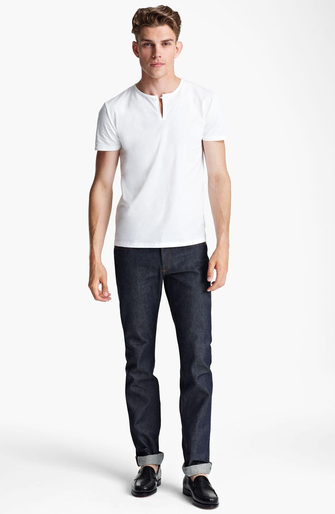 Alternate Image 4  - A.P.C. Henley T-Shirt