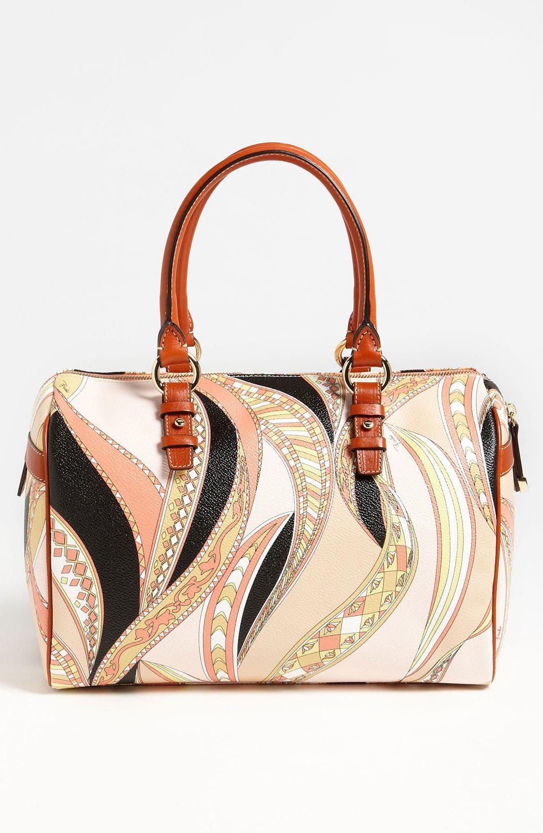 Alternate Image 4  - Emilio Pucci 'Large' Boston Bag