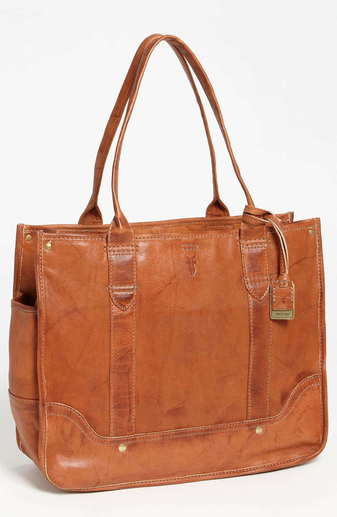 Alternate Image 1 Selected - Frye 'Campus' Leather Shopper
