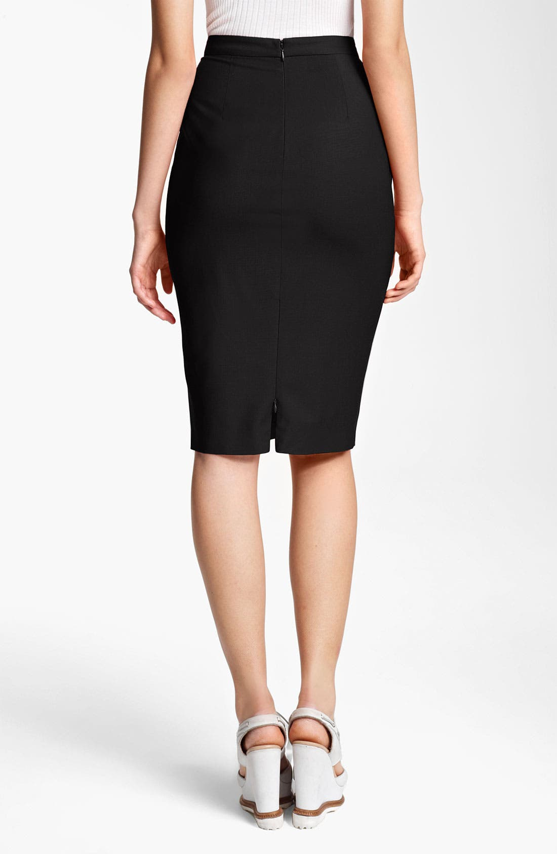 Alternate Image 2  - Jean Paul Gaultier Pencil Skirt