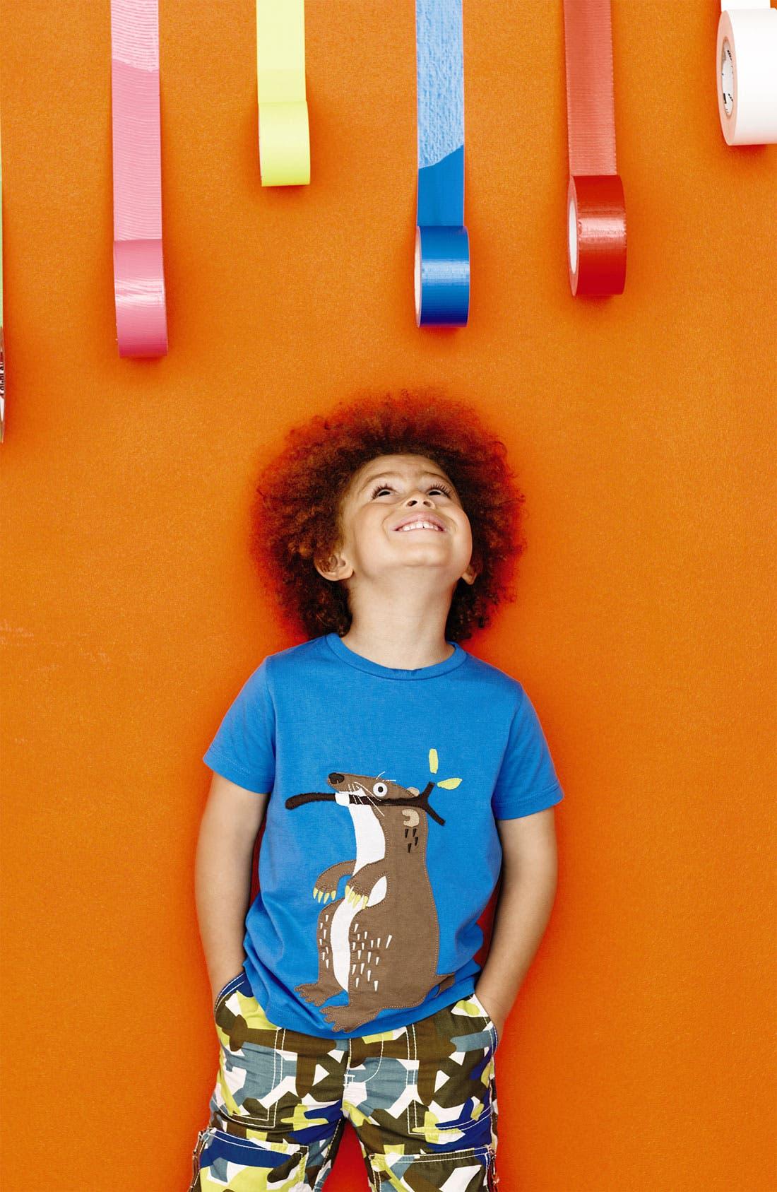 Alternate Image 2  - Mini Boden 'Big Appliqué' T-Shirt (Little Boys & Big Boys)