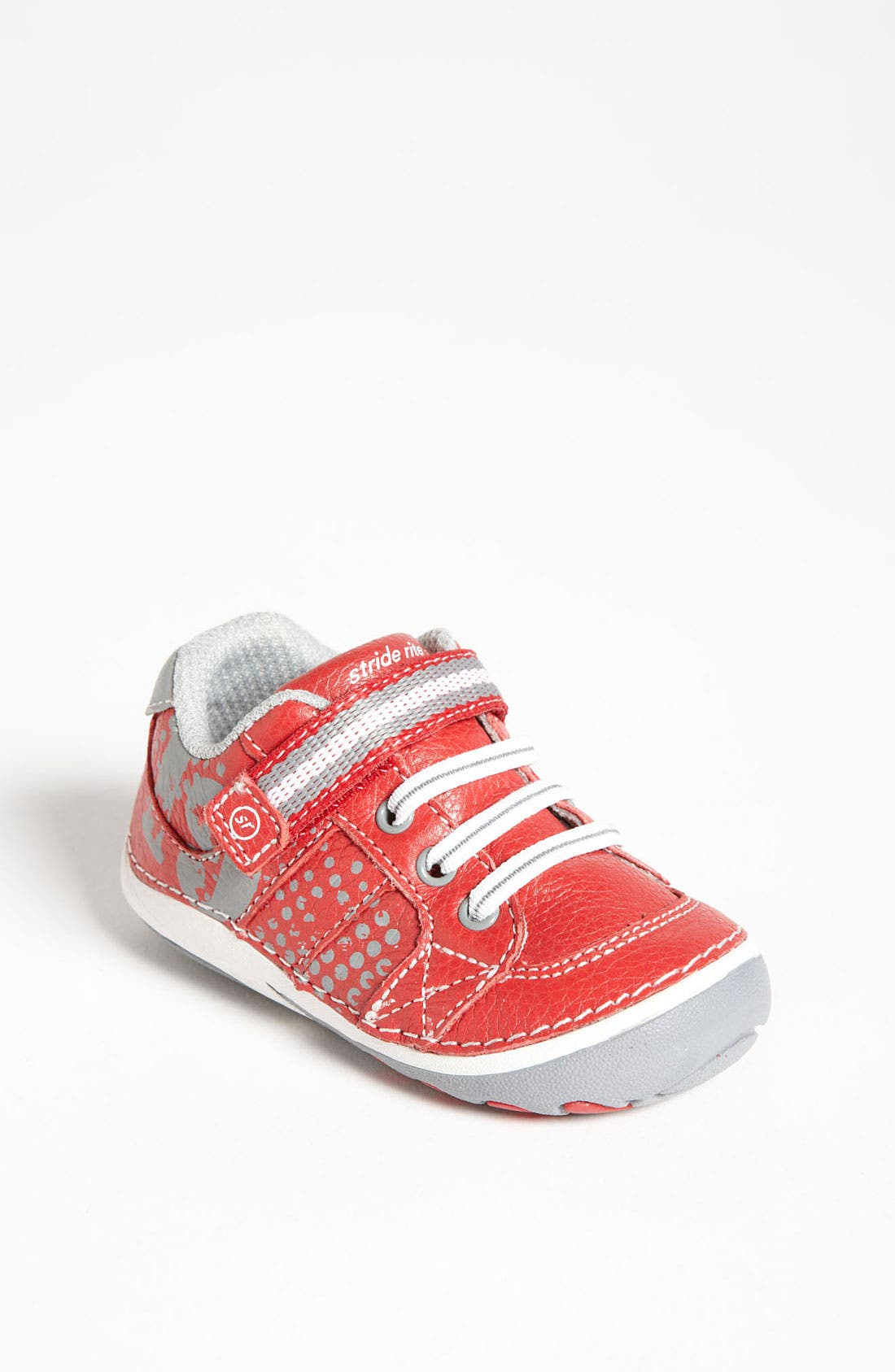 'Artie' Sneaker,                             Main thumbnail 1, color,                             Red/ Grey
