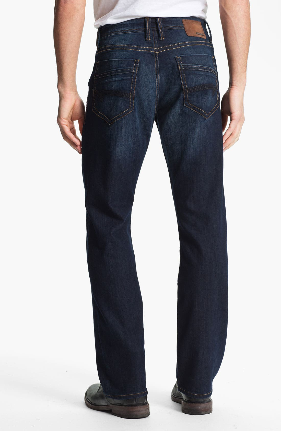 Main Image - Mavi Jeans 'Matt' Relaxed Straight Leg Jeans (Deep Eastwood)
