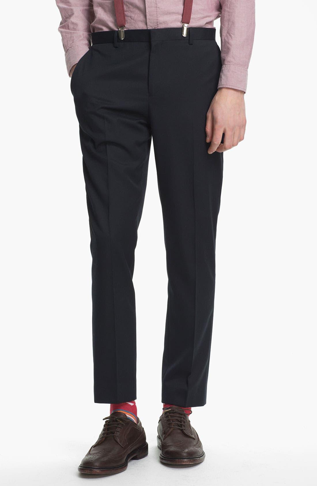 Main Image - Topman Skinny Fit Trousers