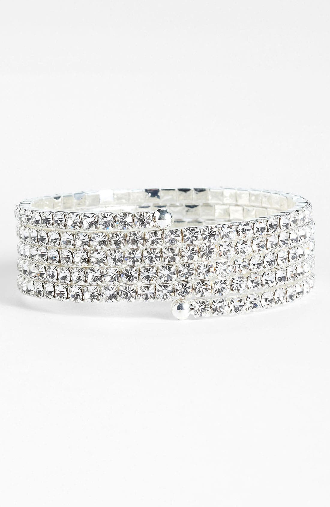 Main Image - Rosa Crystal Collection Jewelry Coil Bracelet