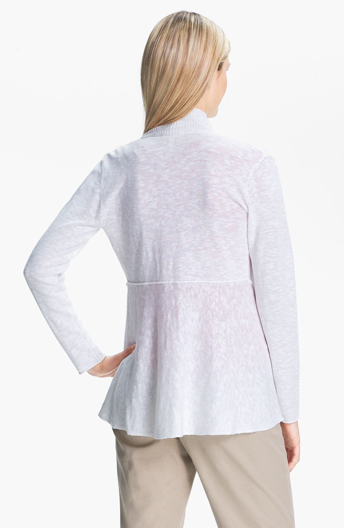 Alternate Image 2  - Eileen Fisher Shaped Cardigan