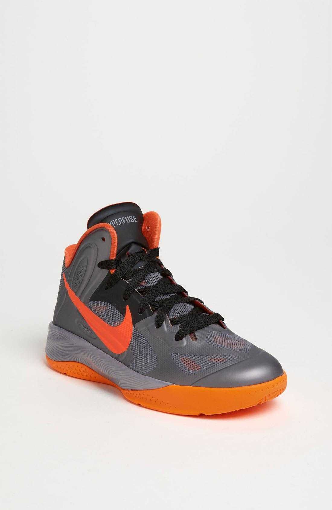 Main Image - Nike 'Hyperfuse 2012' Basketball Shoe (Big Kid)